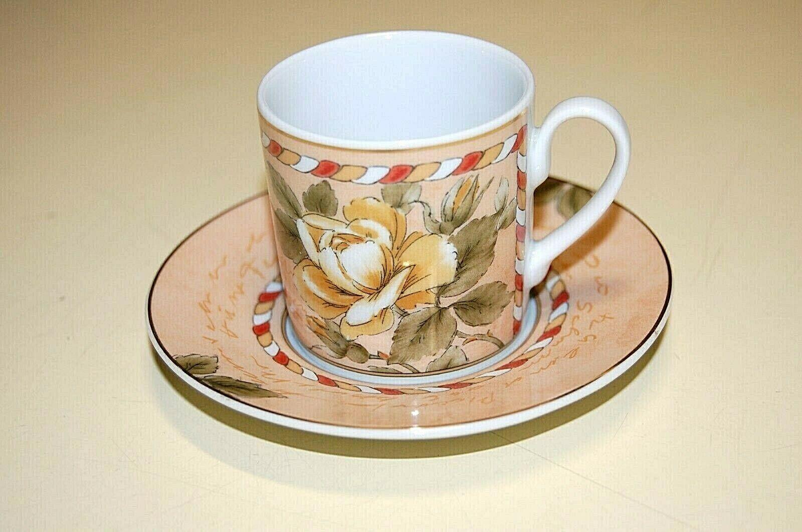 ROSENTHAL - Set 6 Tazze caffè c p RENAISSANCE ALLEGRA - Porcellana - NUOVO