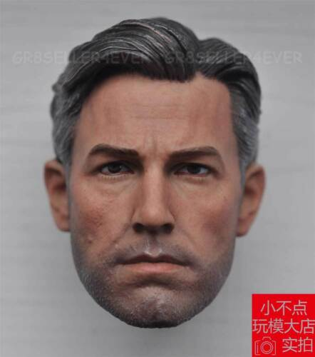 Free Ship eleven 1//6 Scale Head Sculpt Ben Affleck For Bruce Wayne Figure Body