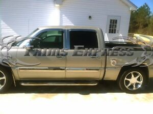 03-06-Chevy-Silverado-Sierra-Crew-Cab-Body-Side-Molding-Trim-Overlay-Chrome-3-5-034