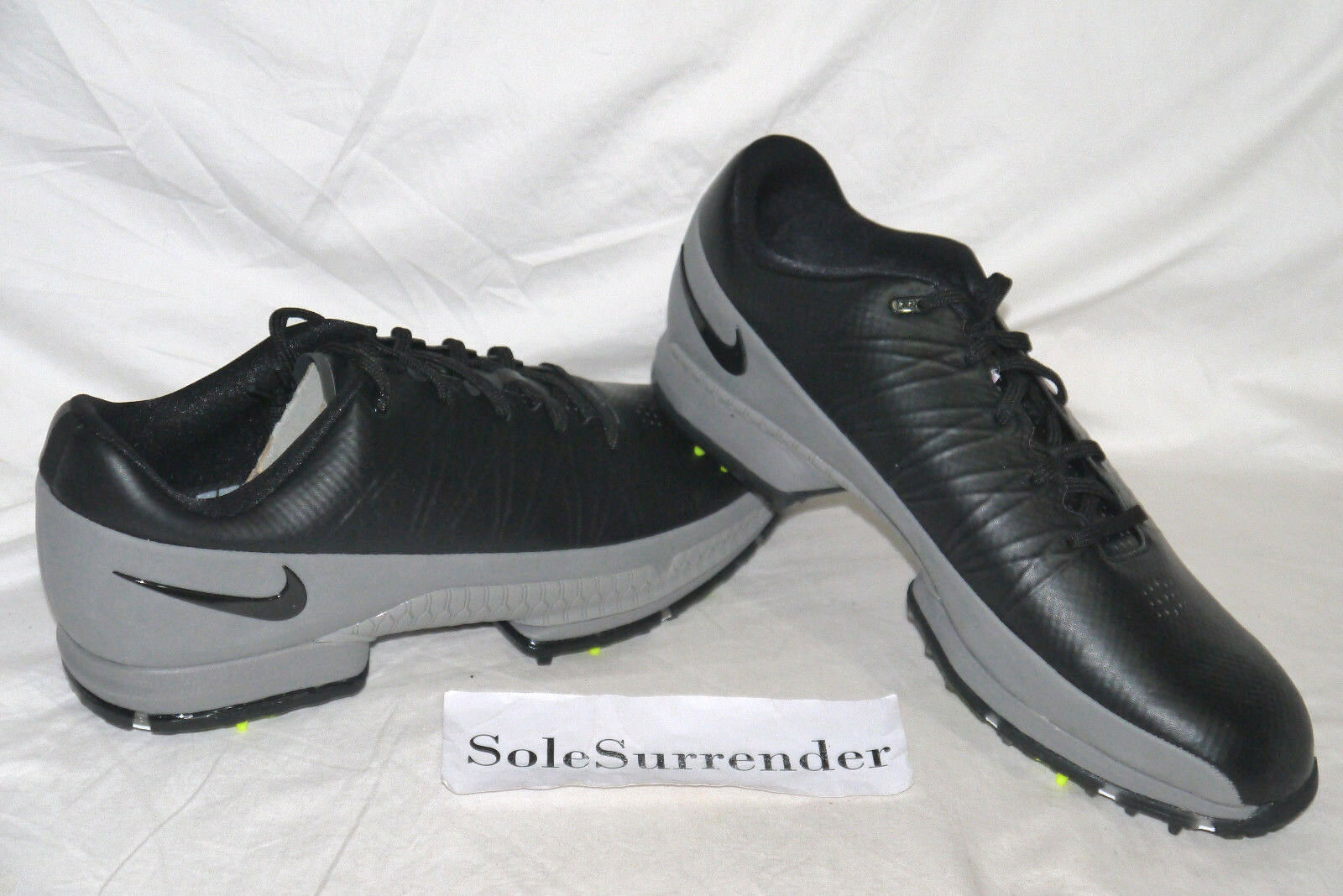 Nike Air Zoom Attack - CHOOSE SIZE - 853739-002 Gray Grey Black Volt Spikes Golf