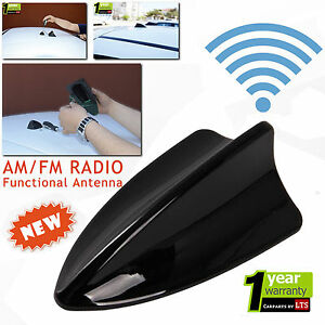 LTS AUTO SHARK FIN FUNCTIONAL BLACK ANTENNA COMPATIBLE FOR SAV//NAT