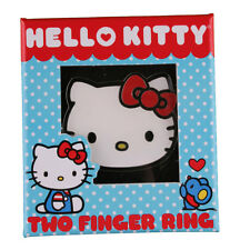 Hello Kitty Face 2 Finger Ring