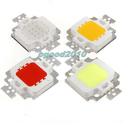 Multi Color 10W 30W 50W 100W Watt High Power LED Chip Home Light Car Lamp DIY