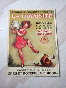 La-034-DIGOINITE-034-Affiche-en-carton-publicitaire-realise-par-Poulbot-en-1928