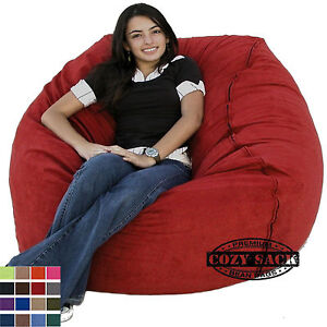 Image Is Loading Large Bean Bag Chair Factory Direct Cozy Sack