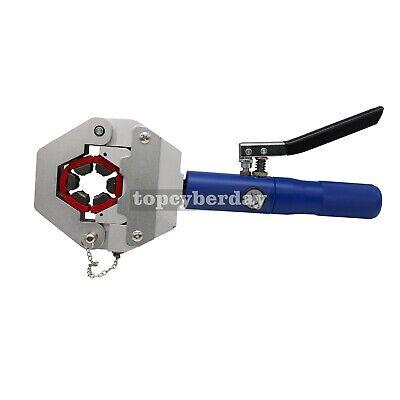 Hydra-Krimp A//C Hose Hydraulic Crimper Kit air Hose Fittings Crimping Tool US^