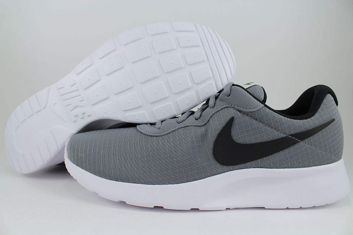 NIKE TANJUN PREMIUM COOL TWO GRAY/noir/blanc fonctionnement ROSHE ONE TWO COOL courir homme TailleS b69e52