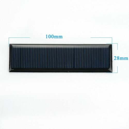 Panneau solaire Photo Voltaic Voitures à Piles Chargeur Lampe Sun Power Monocristalline