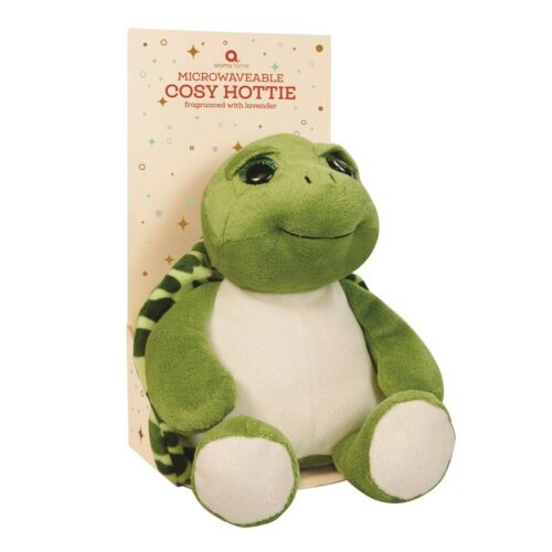 Aroma Home Green Turtle Cozy Hottie Soft Lavender Fragranced Microwavable Toy