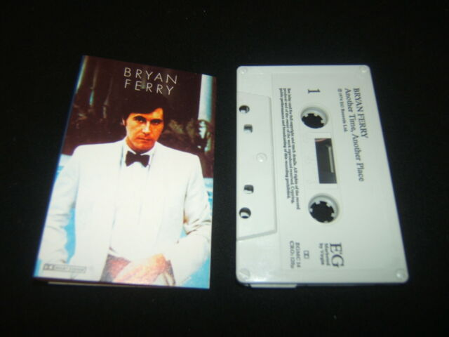 BRYAN FERRY ANOTHER TIME, ANOTHER PLACE UK CASSETTE TAPE