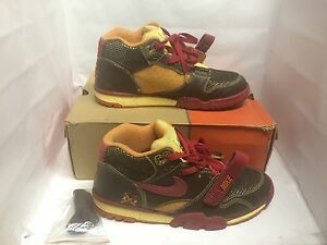 Nike SB Air Trainer 1 Huf SF Golddigger Used 9.5 Supreme