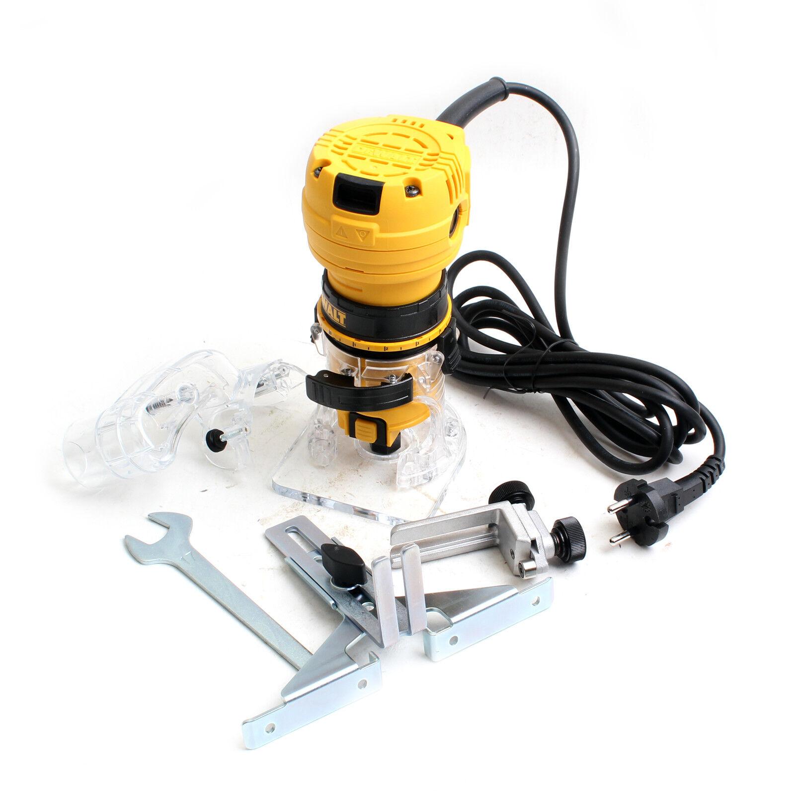 Dewalt Laminate Trimmer Cutter Tool Corded 1 4 In 220V DWE6000