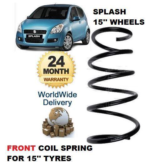 Für Suzuki Spritz 1.0 1.2 2008  Neu Vorn Schraubenfeder für 15'' Zoll Rad