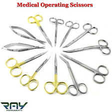 Medspo Surgical Scissors Medical Dental Veterinary Microsurgery Dissecting Tools