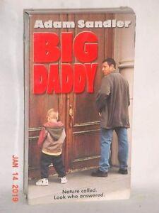 Details about BIG DADDY VHS 1999 ADAM SANDLER JON STEWART ROB SCHNEIDER  JOEY ADAMS DIGITAL VG