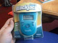 Radica Pocket Blackjack 21 Electronic Handheld Travel Game Model I7009 Nip
