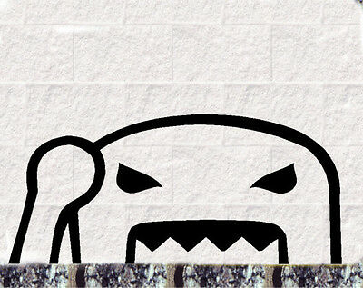 Böser Domokun  Aufkleber JDM Style Sticker OEM TUNING DECAL Fun Stickerbomb