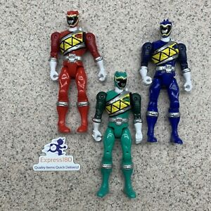 """(TZ) Power Rangers Dino Charge Action Figures (set of 3) 5.5"""" Each"""