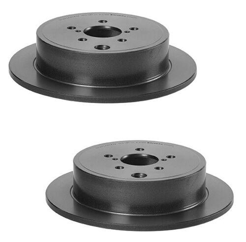 Brembo Rear Brake Kit Disc Rotors Ceramic Pads For Subaru BRZ Impreza Forester