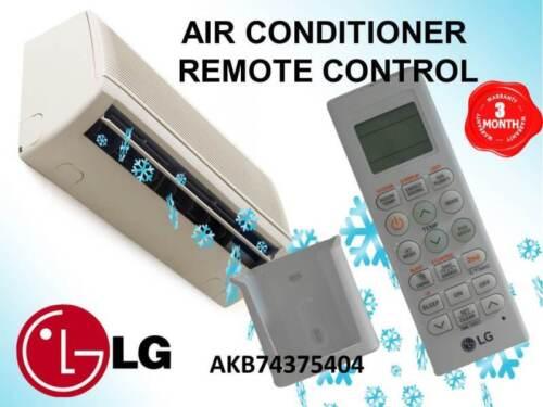 GENUINE LG AIR CONDITIONER REMOTE CONTROL PART # 6711A20010N # AKB74375404