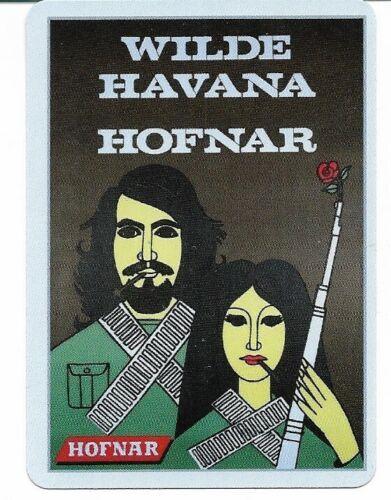 CC-301 SINGLE swap  card MINT SMOKING TOBACCIANA HOFNAR HAVANA CIGAR