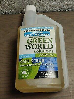 Green World Solutions Safe Scrub Restroom Grout Tile Cleaner