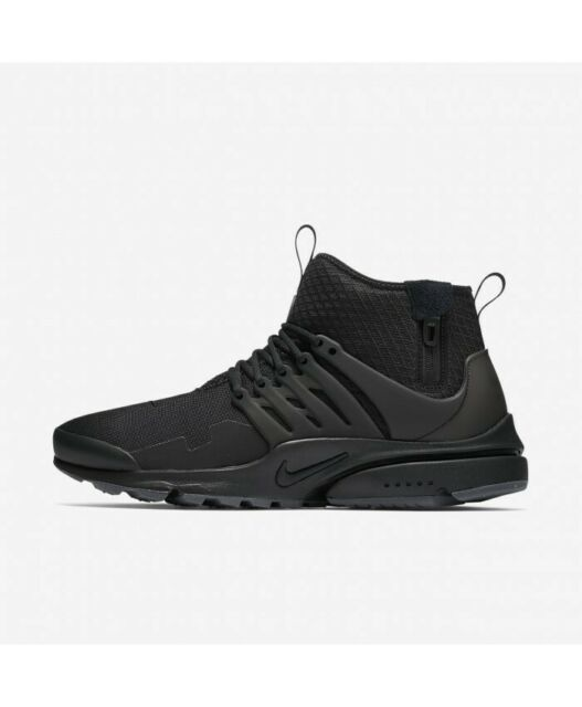 huge selection of arriving 50% price Nike Air Presto Mid Utility Triple Black 859524-006 Size 14 US