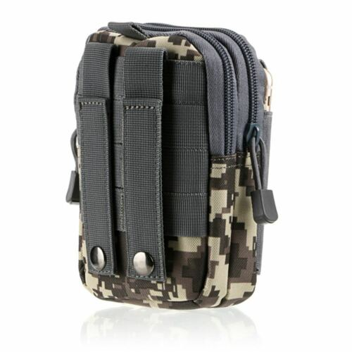 Military Tactical Molle Pouch Belt Waist Packs Bag Pocket for Camping Hiking New