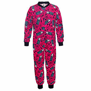 NEW GIRLS PINK MONSTER HIGH FOOTLESS ONSIE PYJAMAS NIGHTWEAR SET 4  6 YEARS - Bournemouth, United Kingdom - NEW GIRLS PINK MONSTER HIGH FOOTLESS ONSIE PYJAMAS NIGHTWEAR SET 4  6 YEARS - Bournemouth, United Kingdom