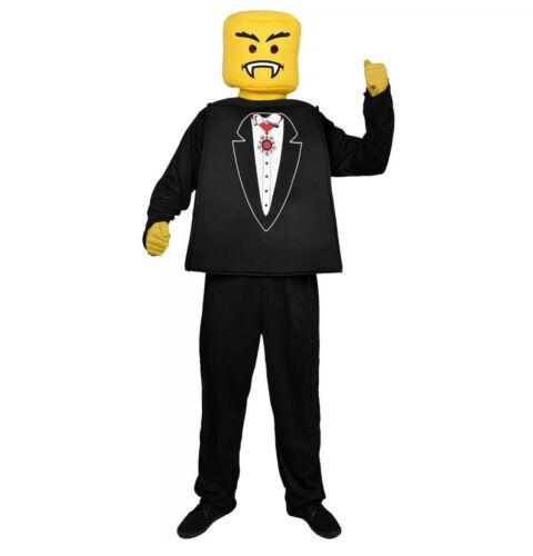- Create your own Vampire//Tuxedo Mr Lego NEW Blockhead Morph Costume Co