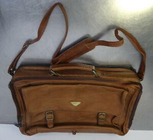 Hochwertige-Ledertasche-Harold-039-s-Aktentasche-Tasche-echt-Leder-Umhaengetasche