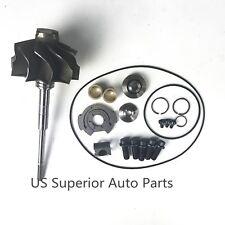 2003 Ford Powerstroke 60 Gt3782va Turbo Turbine Wheel Shaft 10 Blade Repair Kit