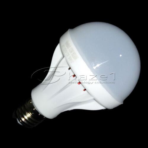 Cool White Daylight E27 Edison Screw Type LED Light Bulb 9W 750 Lumens