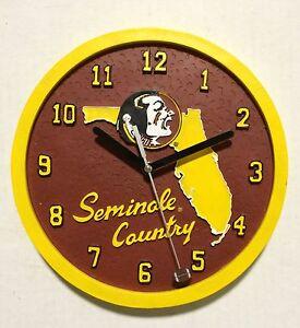 Florida-State-University-Seminoles-Ceramic-Round-College-Clock-by-Talegaters