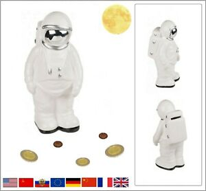 Astronaute-Ceramique-Tirelire-Kosmonaut-Astronaute-Tirelire-21-CM-Hauteur