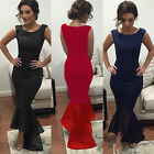 Sexy Womens Wedding Evening Party Ball Prom Gown Formal Cocktail Maxi Long Dress