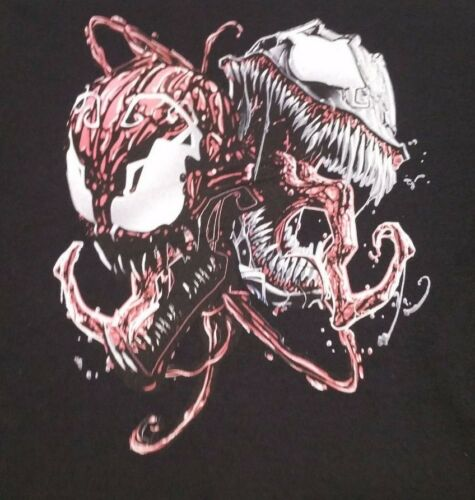 VENOM /& CARNAGE Marvel Comics L XL Sweatshirt Spiderman Villains
