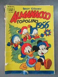 ALMANACCO TOPOLINO 1956 - ALBO D'ORO 50 - WALT DISNEY MONDADORI