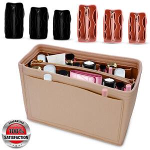Multi-Pocket-Handbag-Organizer-Felt-Purse-Insert-Bag-fits-Neverfull-MM-3-Colors