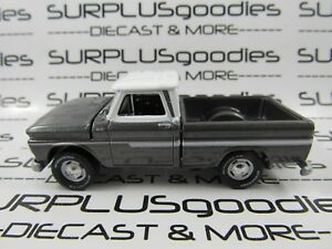 Johnny-Lightning-1-64-Scale-LOOSE-Classic-Gray-1965-CHEVROLET-C10-Pickup-Truck