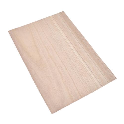10stk Holzplatte Handarbeit Wooden Plate 300x200mm DIY Holzscheibe Holz Basteln