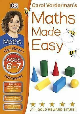 1 of 1 - Maths Made Easy Ages 6-7 Key Stage 1 Advanced (Carol Vorderman's Maths Made Easy