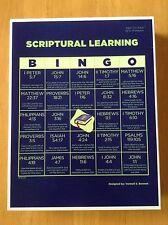 Bible Bingo Game includes 50 Scriptures (also view Attributes of God Bingo)