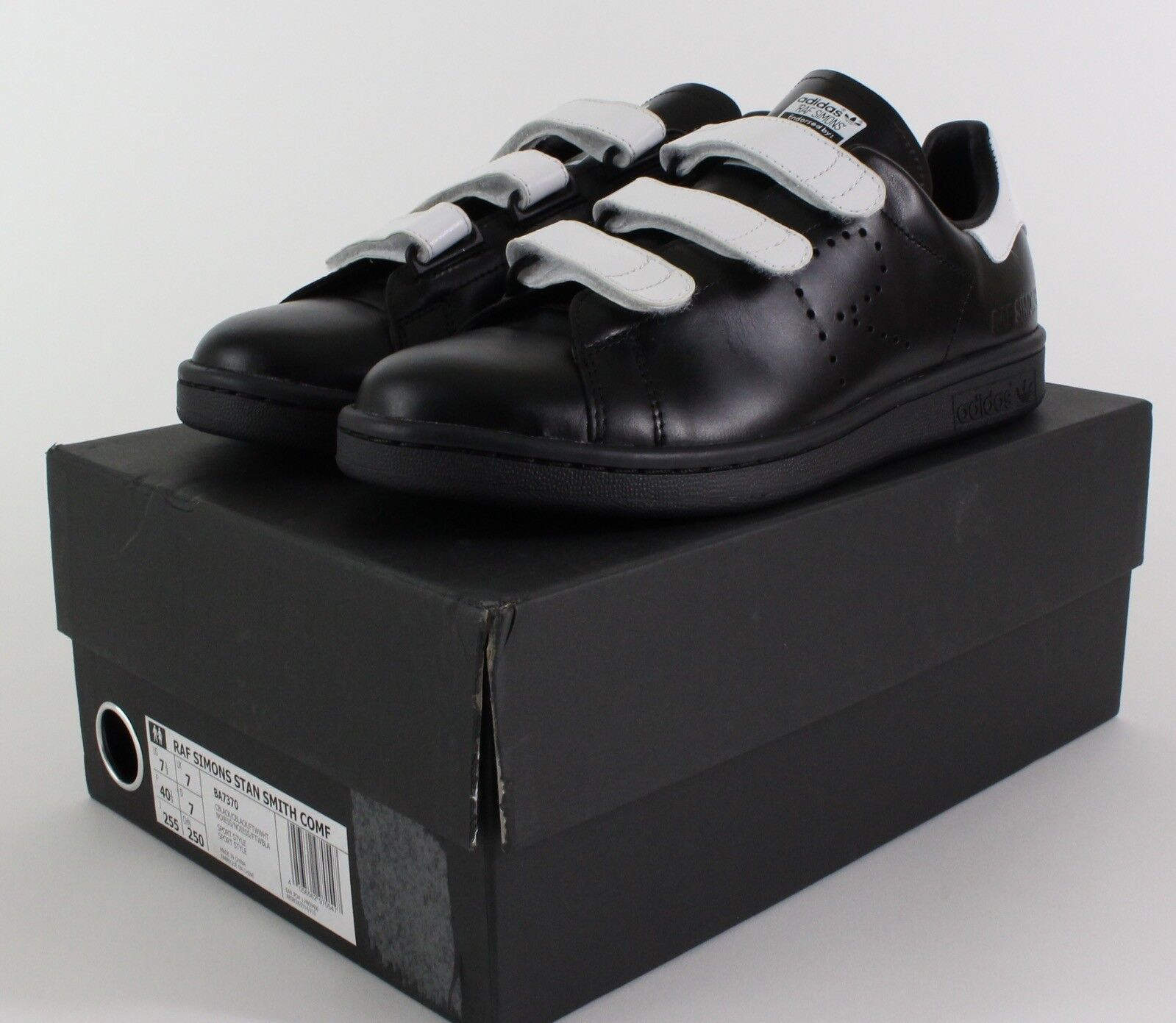 raf simons, stan smith, adidas confort confort adidas confort adidas en noir / blanc 189159