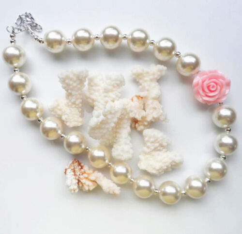 Chunky Bead Necklaces for Little Girls and Newborn Photo Shoot