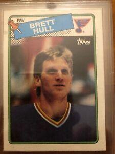 1988-89-Topps-Brett-Hull-Rookie
