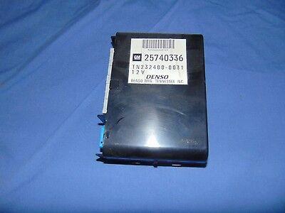 03-07 CADILLAC CTS 25740336 BODY CONTROL UNIT BCM MODULE COMPUTER