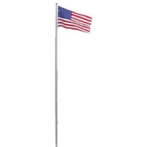 Foot 20ft Eagle Aluminum Residential Flagpole Pole