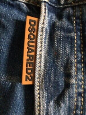 46 Italy. New Dsquared2 Style Summer Slim Fit Jeans Shorts size W 29-30