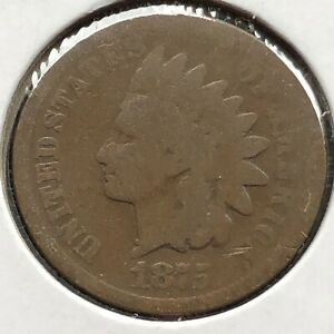 1875-Indian-Head-Cent-1c-Circulated-10869
